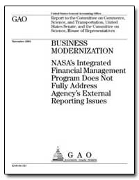 Business Modernization Nasa's Integrated... by General Accounting Office
