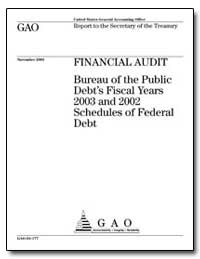 Financial Audit Bureau of the Public Deb... by General Accounting Office