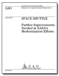Space Shuttle Further Improvements Neede... by General Accounting Office