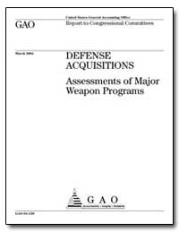 Defense Acquisitions Assessments of Majo... by General Accounting Office