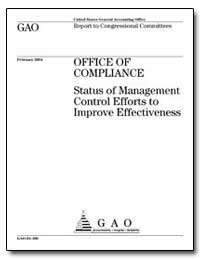 Office of Compliance Status of Managemen... by General Accounting Office