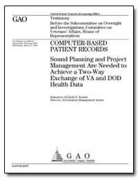 Computer-Based Patient Records Sound Pla... by Koontz, Linda D.