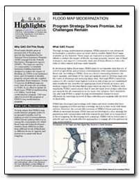 Flood Map Modernization Program Strategy... by General Accounting Office
