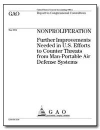 Nonproliferation Further Improvements Ne... by General Accounting Office
