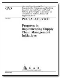 Postal Service Progress in Implementing ... by General Accounting Office