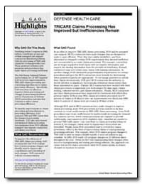 Tricare Claims Processing Has Improved b... by General Accounting Office