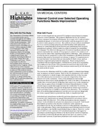Internal Control Over Selected Operating... by General Accounting Office