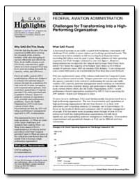 Challenges for Transforming into a High-... by General Accounting Office