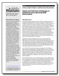 States and Hhs Face Challenges in Assess... by General Accounting Office