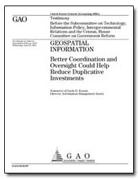 Better Coordination and Oversight Could ... by Koontz, Linda D.