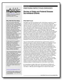 Review of State and Federal Disease Surv... by General Accounting Office