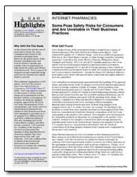 Some Pose Safety Risks for Consumers and... by General Accounting Office