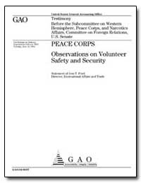 Observations on Volunteer Safety and Sec... by Ford, Jess T.