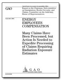 Many Claims Have Been Processed, But Act... by General Accounting Office