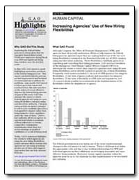 Increasing Agencies Use of New Hiring Fl... by General Accounting Office