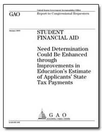 Need Determination Could Beenhanced thro... by General Accounting Office