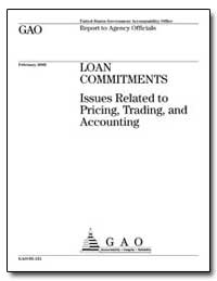 Loan Commitments Issues Related to Prici... by Greenspan, Alan