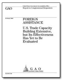 Foreign Assistance U. S. Trade Capacity ... by Shays, Christopher