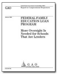 Federal Family Education Loan Program by Kildee, Dale E.