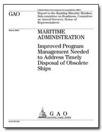 Maritime Administration Improved Program... by Ortiz, Solomon P.