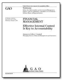 Financial Management Effective Internal ... by Steinhoff, Jeffrey C.