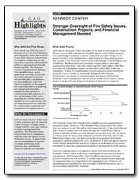 Stronger Oversight of Fire Safety Issues... by General Accounting Office