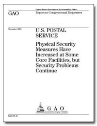 Physical Security Measures Have Increase... by General Accounting Office