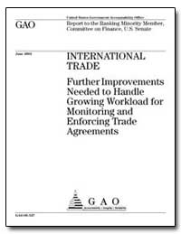 International Trade Further Improvements... by Baucus, Max