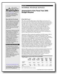 Assessment of the Fiscal Year 2006 Budge... by General Accounting Office