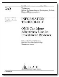 Information Technology Omb Can More Effe... by Powner, David A.