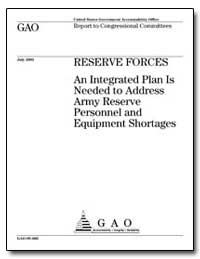 Reserve Forces an Integrated Plan Is Nee... by Hunter, Duncan L.