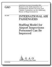 Staffing Model for Airport Inspections P... by Hostettler, John N.
