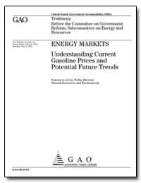 Energy Markets Understanding Current Gas... by Wells, Jim