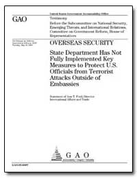 Overseas Security State Department Has N... by Ford, Jess T.