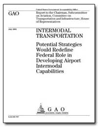 Intermodal Transportation Potential Stra... by Mica, John L.