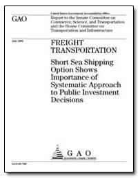 Freight Transportation Short Sea Shippin... by Inouye, Daniel K.