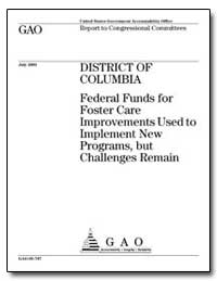 Federal Funds for Foster Care Improvemen... by General Accounting Office