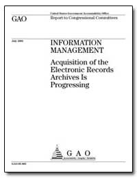 Acquisition of the Electronic Records Ar... by General Accounting Office