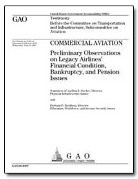 Preliminary Observations on Legacy Airli... by Hecker, Jayetta Z.