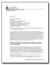 Questions for the Record : Hearing on th... by General Accounting Office