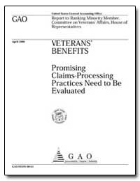 Promising Claims-Processing Practices Ne... by General Accounting Office