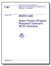 Medicare Home Oxygen Program Warrants Co... by Scanlon, William J.