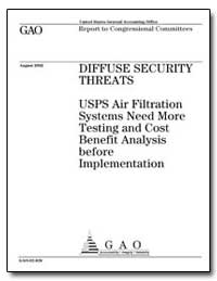 Diffuse Security Threats Usps Air Filtra... by General Accounting Office