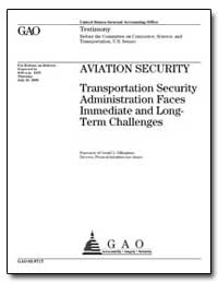 Aviation Security Transportation Securit... by Dillingham, Gerald L.