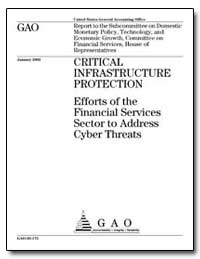 Critical Infrastructure Protection Effor... by General Accounting Office