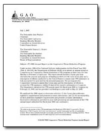 Fy 2006 Annual Report on the Cooperative... by Christoff, Joseph A., Director
