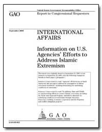 Information on U. S. Agencies Efforts to... by General Accounting Office