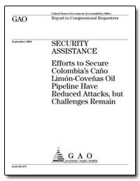 Security Assistance Efforts to Secure Co... by General Accounting Office