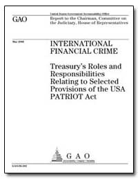 International Financial Crime Treasury's... by General Accounting Office