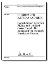Coordination between Fema and the Red Cr... by General Accounting Office